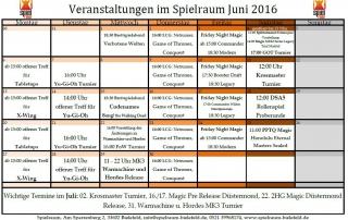 Monatsplan Juni 2016