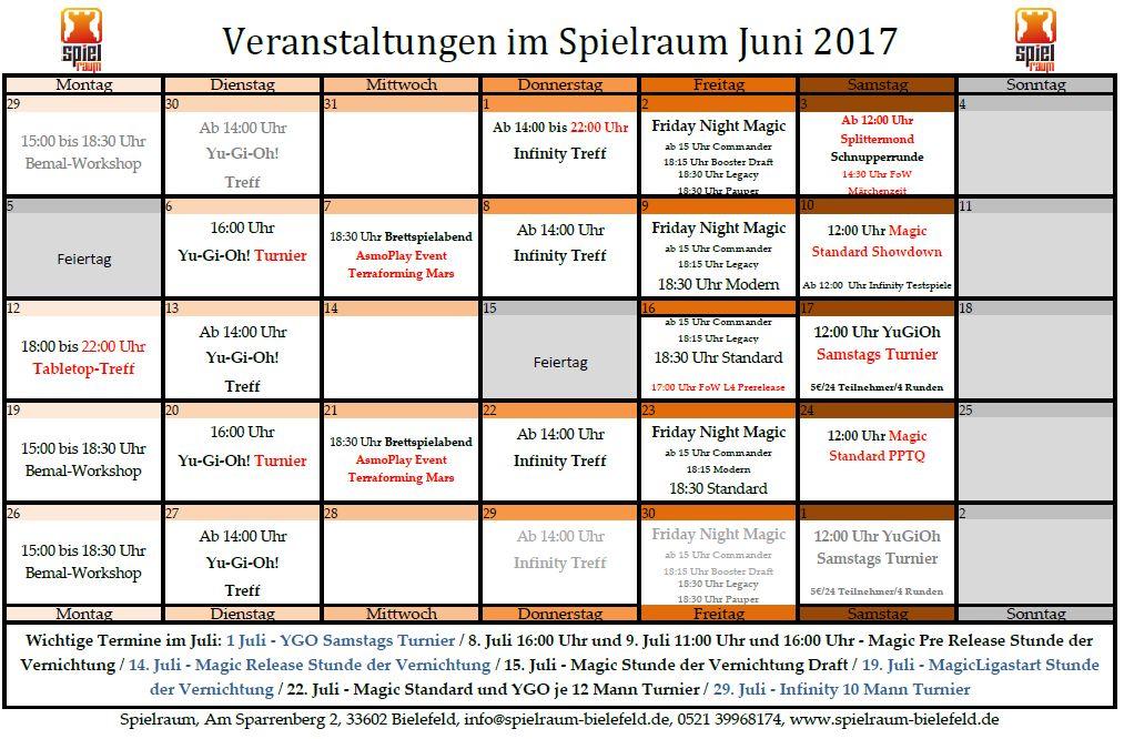 Monatsplan Juni 2017