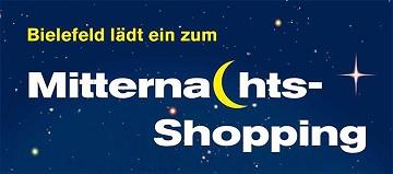 Mitternachts Shopping in Bielefeld