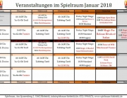 Monatsplan Januar 2018