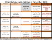 Monatsplan November 2018