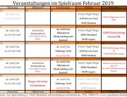 Monatsplan 2019 - 02 Februar