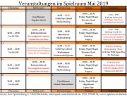 Monatsplan Mai 2019