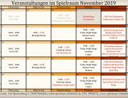 Monatsplan November Insta 2019