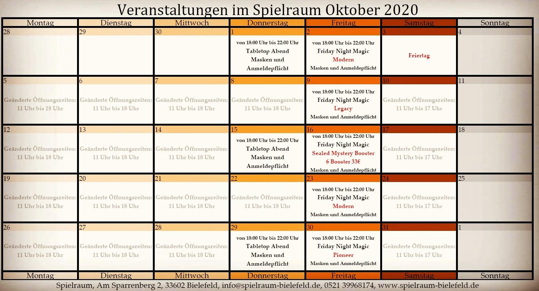 Monatsplan2020-10 Oktober insta