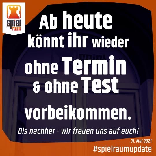 21-05-31 - Ohne Testtermin